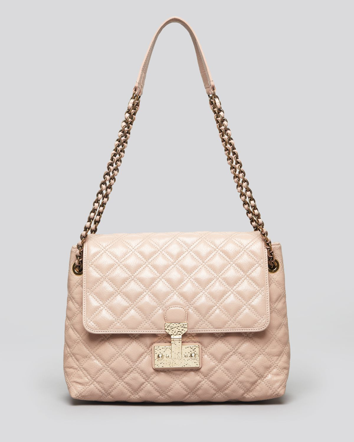 56e082fd06f Marc Jacobs Shoulder Bag Quilted Baroque Xl Single in Pink - Lyst