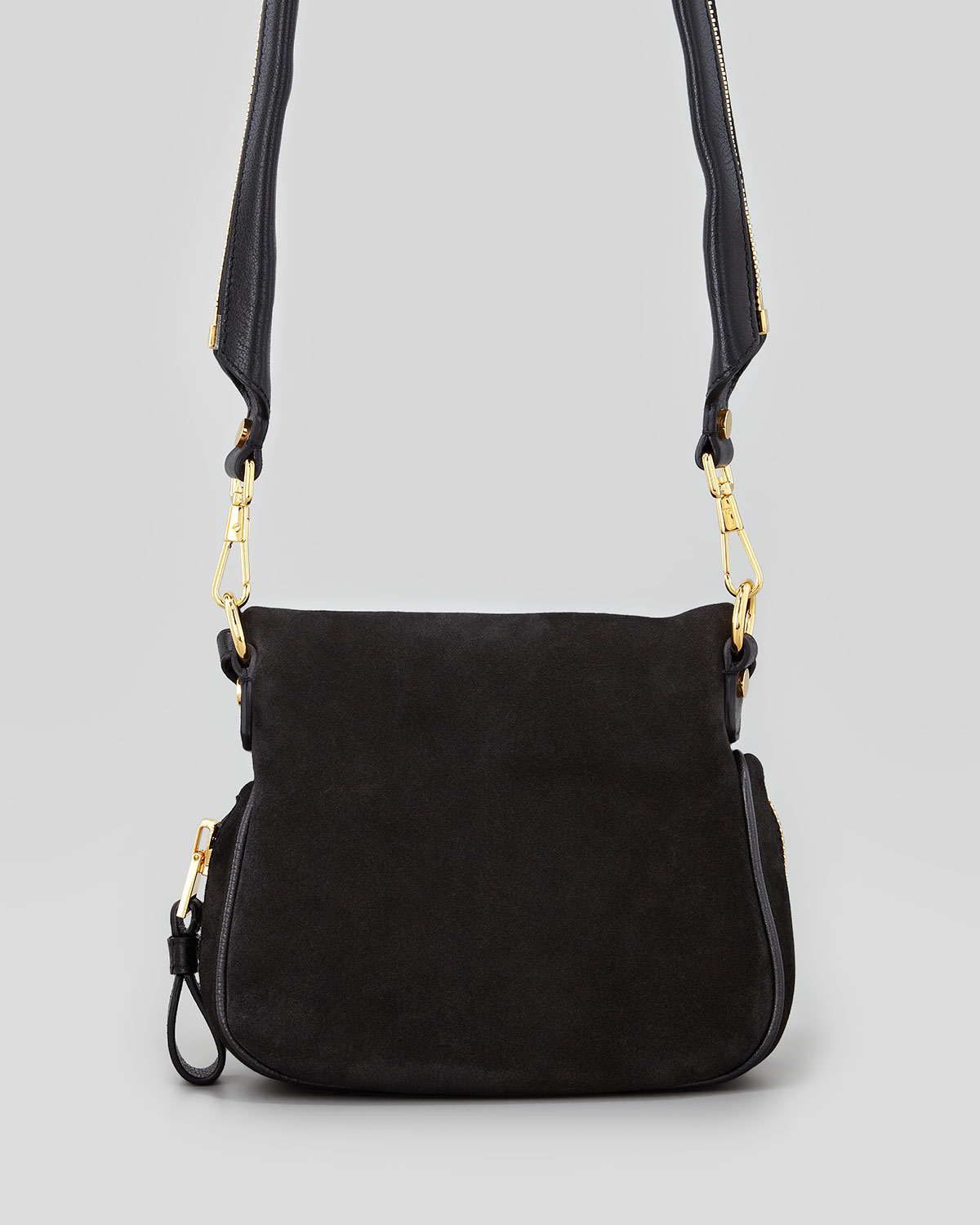 2761fac2ae Lyst - Tom Ford Jennifer Suede Mini Crossbody Bag Black in Black