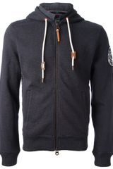 Armani Jeans Hooded Top - Lyst