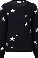 Chinti And Parker Chinti and Parker Cashmere Star Sweater - Lyst