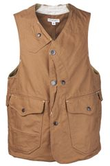 Engineered Garments Engineered Garments Upland Vest - Lyst
