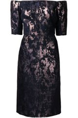 J. Mendel Fitted Dress - Lyst
