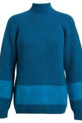 Jil Sander  Oversized Ribbed Wool and Cashmere Jumper - Lyst