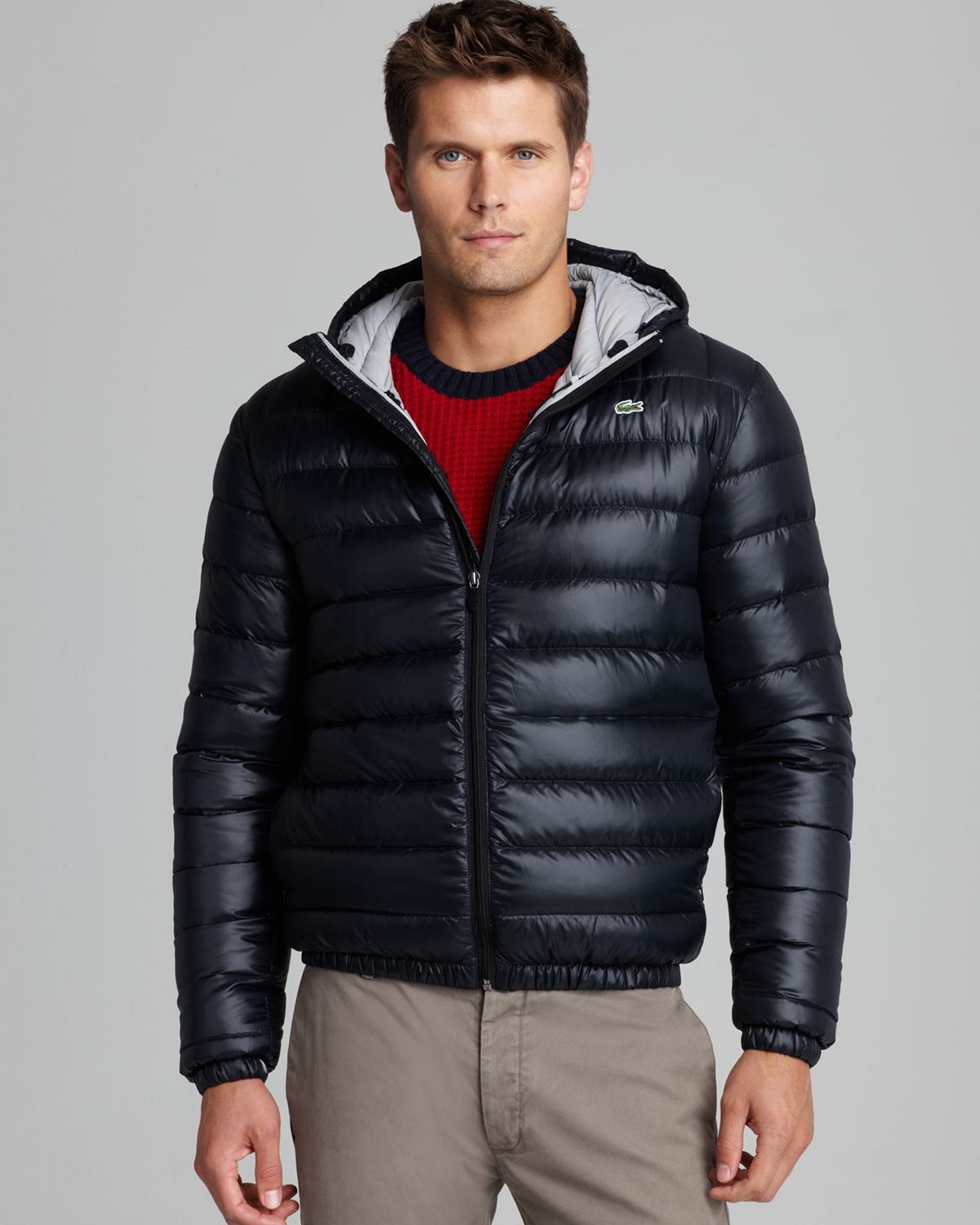 Packable jacket men