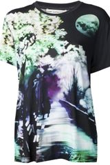 Mary Katrantzou Graphic T-shirt - Lyst