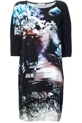 Mary Katrantzou Mary Katrantzou Misty Maria Shift Dress - Lyst