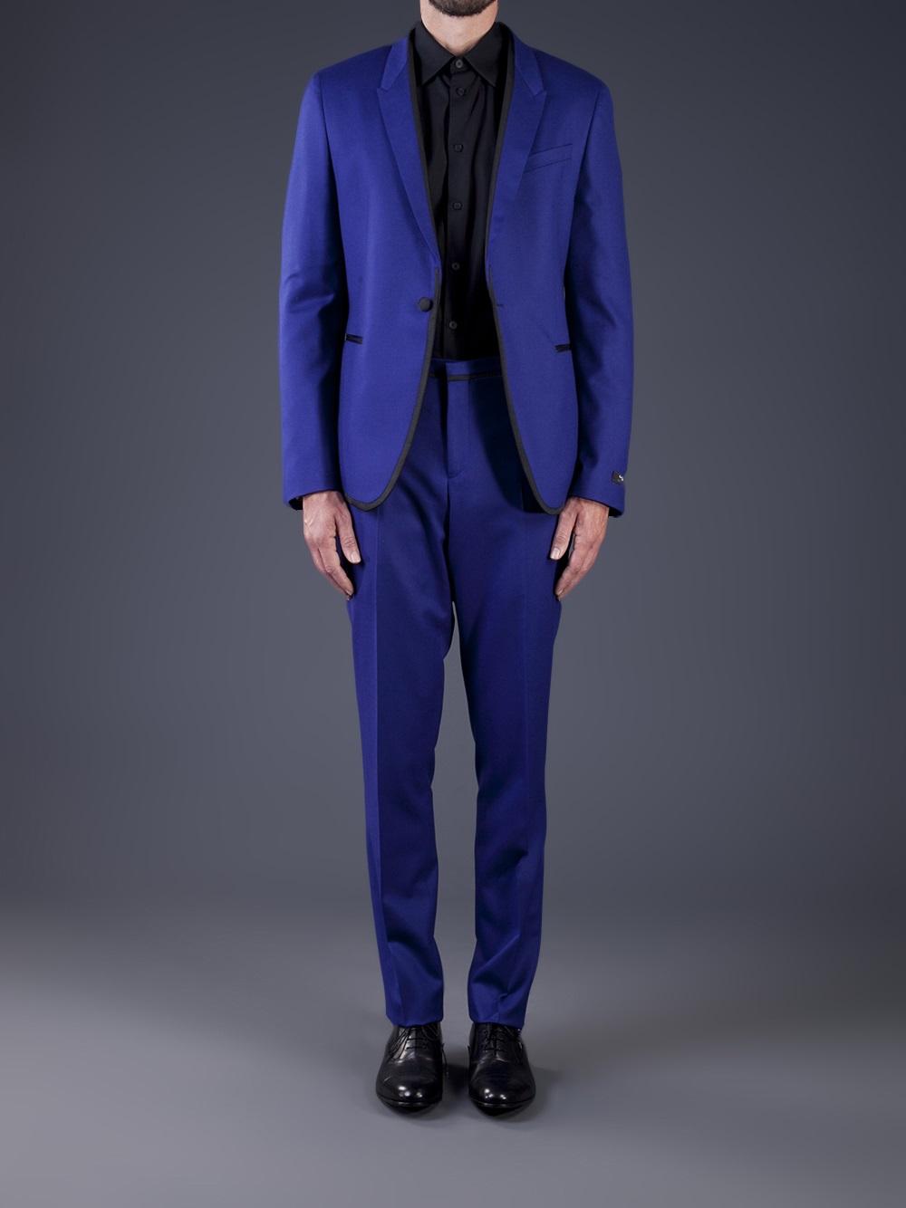 85604d7d23 Paul Smith Paul Smith Wool Suit in Blue for Men - Lyst