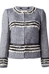 Tory Burch Tory Burch Tweed Jacket - Lyst