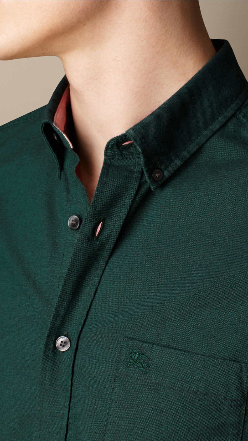 Green Dress Shirt Men