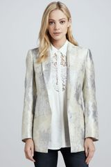 Cameo Chances Are Metallic Blazer - Lyst