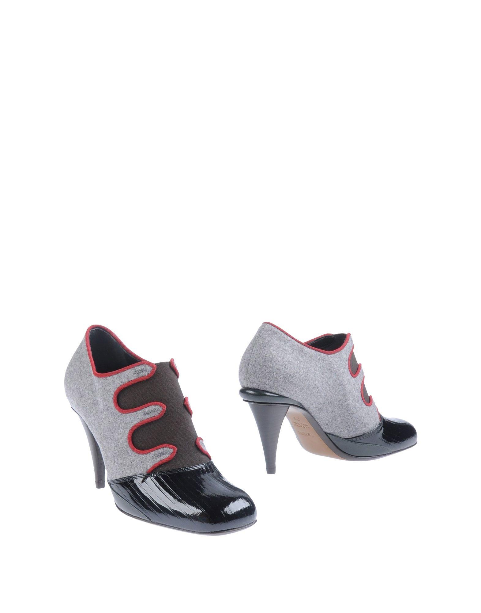 fendi shoe boots in black lyst