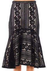 Lover Valentine Lace Skirt - Lyst