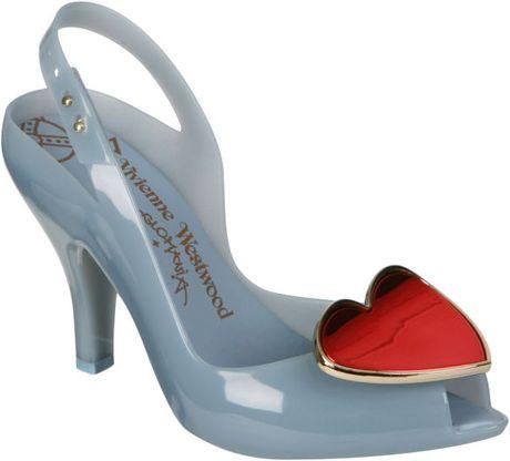 Vivienne Westwood Blue Lady Dragon Shoes