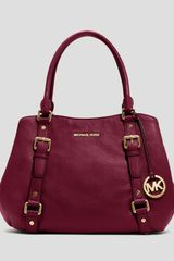 Michael by Michael Kors Satchel Bedford Large - Lyst