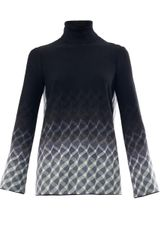 Missoni Geometric Weave Open Back Sweater - Lyst