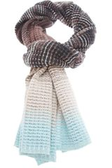 Missoni Colour Blocked Knit Scarf - Lyst