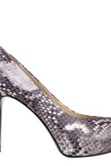 Nine West Camya Peep Toe Pump - Lyst