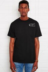 Obey X Cope2 Throw Up Pocket Tee - Lyst