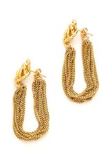 Rachel Zoe Looped Knot Earrings - Lyst
