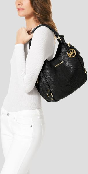 Michael Kors Medium Shoulder Bag In Black 76