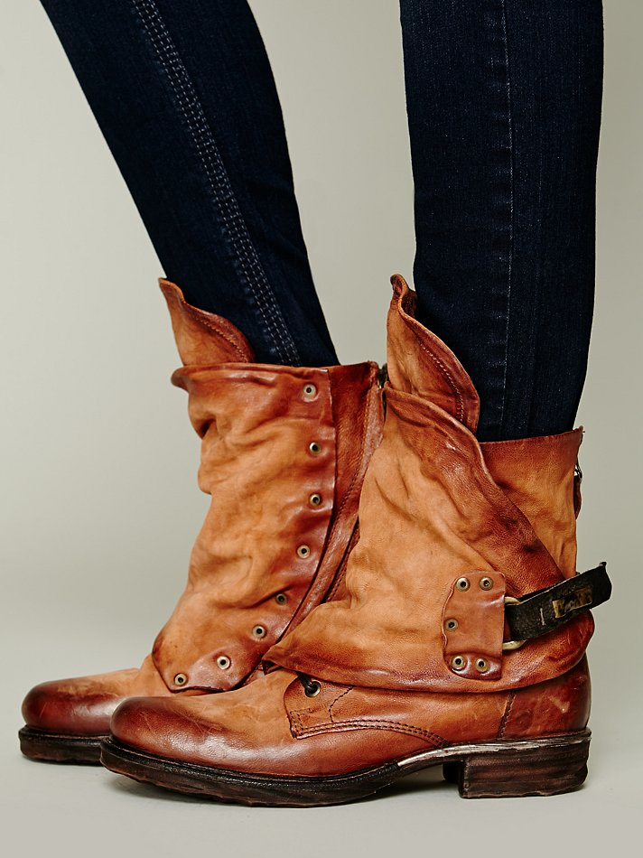 Free People Emerson Ankle Boot In Brown Tan Lyst
