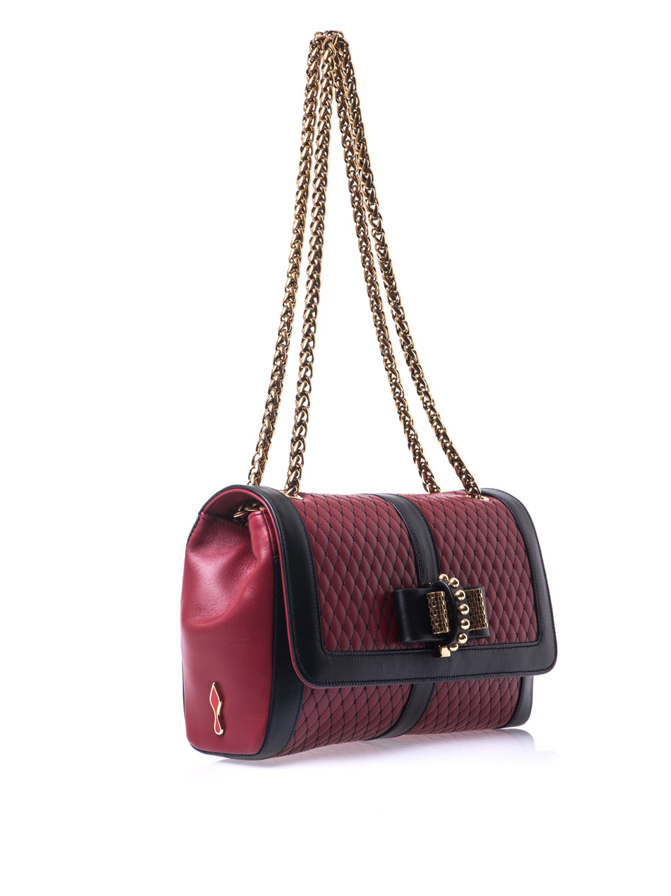 Lyst Christian Louboutin Sweet Charity Shoulder Bag In