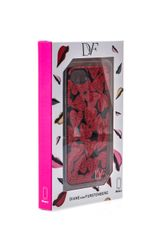 Diane Von Furstenberg Heartprint Iphone5 Case - Lyst