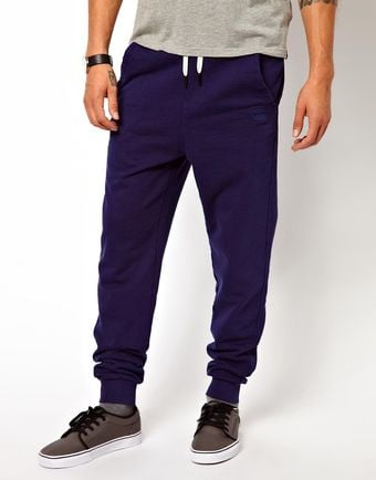 G-star Raw G Star Sweat Pants Correct Lens Regular Tapered Army Slub - Lyst