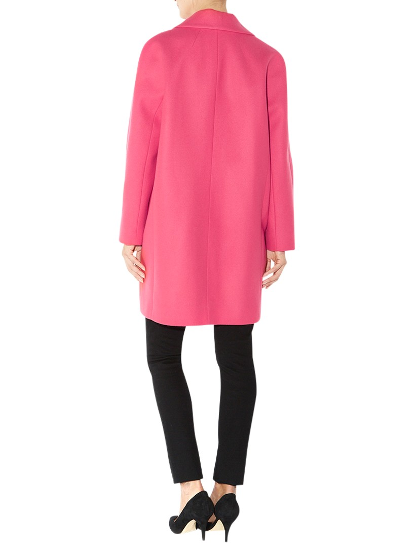 Hobbs Lacey Coat in Pink | Lyst