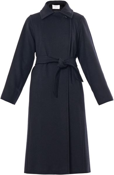 Max Mara Manuela Coat in Blue (navy) - Lyst