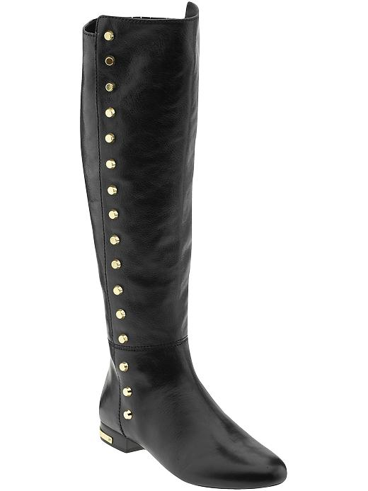 michael michael kors flat boots ailee studded in