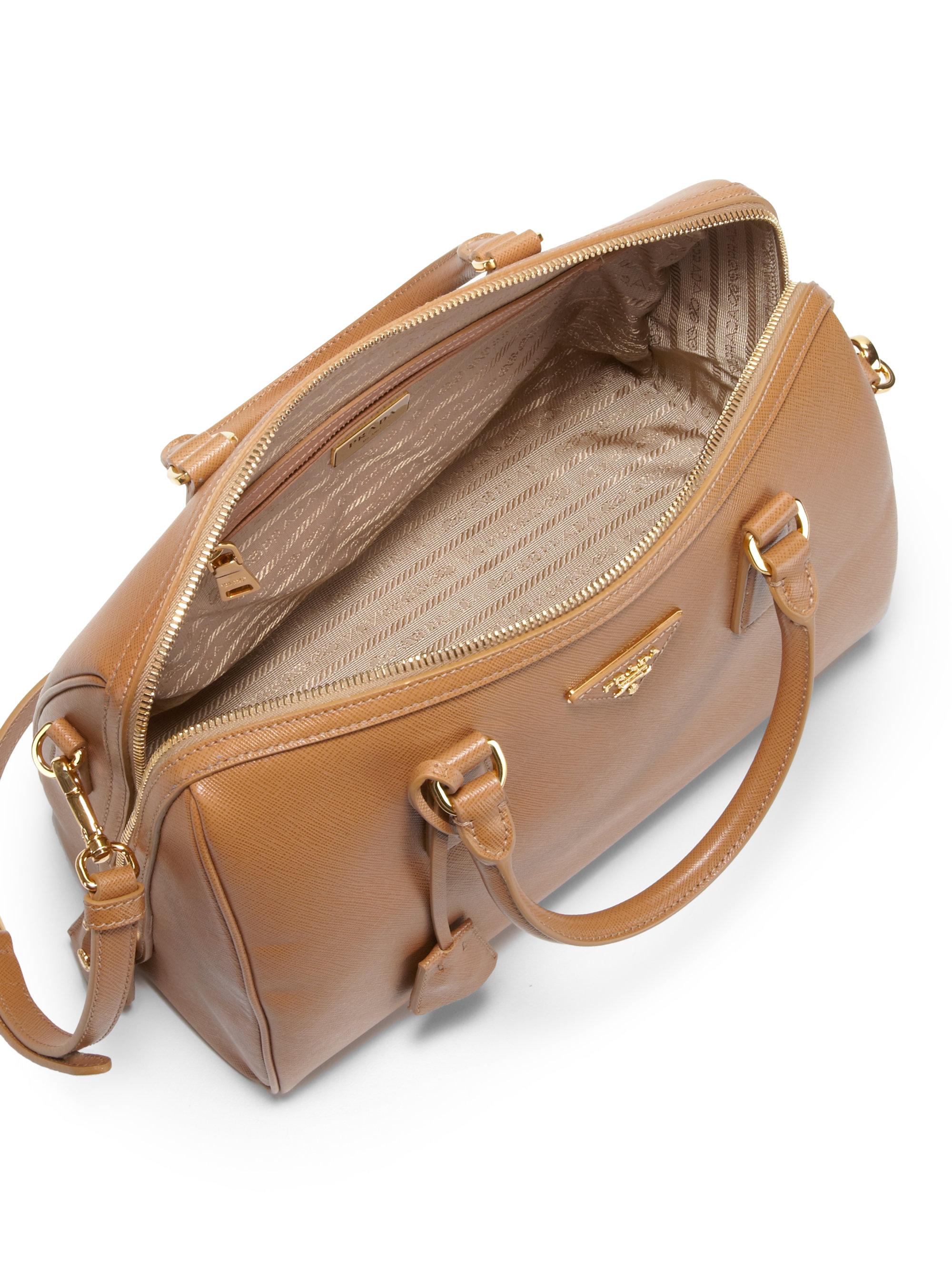 prada brown leather bowler bag prada messenger bag black