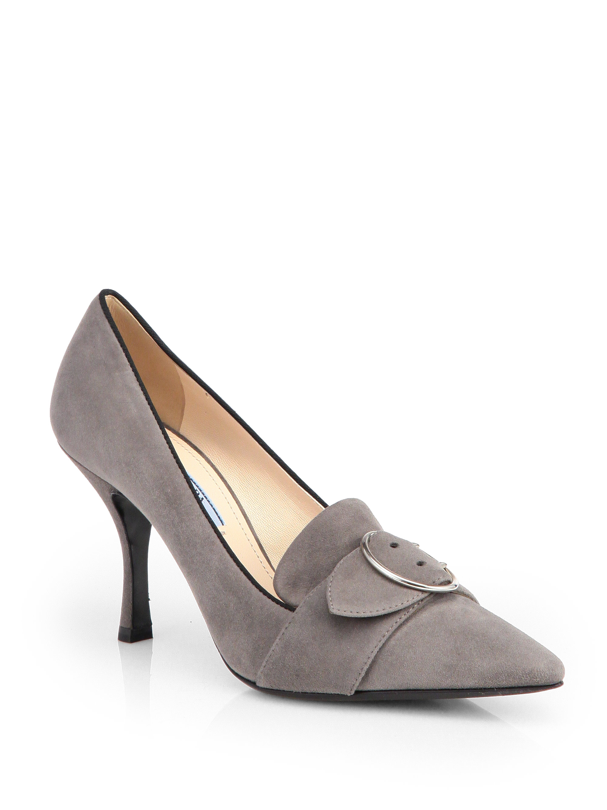 Find grey suede pump at ShopStyle. Shop the latest collection of grey suede pump from the most popular stores - all in one place.
