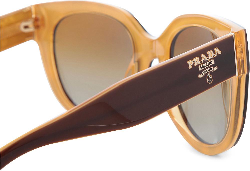 6a60834095e3 ... where to buy prada prada vintage style tortoise shell sunglasses in  brown for men b0621 0db98