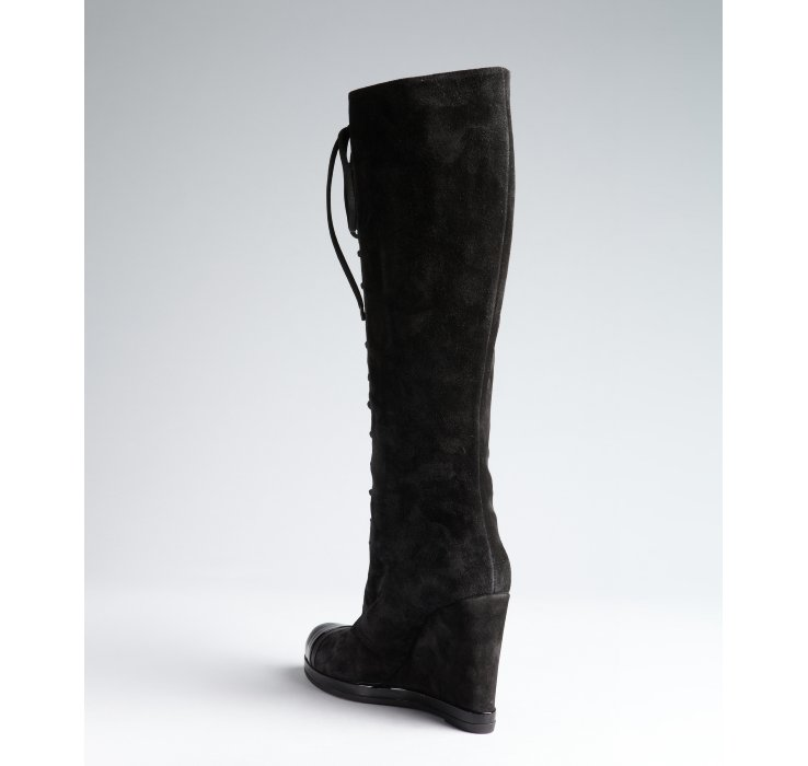 cheap price outlet sale Ritch Erani NYFC Suede Knee-High Boots clearance genuine IG24UxiYM