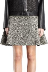 Lanvin Bonded Leather Guipure Lace Jacket - Lyst