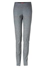Missoni Wool Lurex Patterned Slim Pants - Lyst