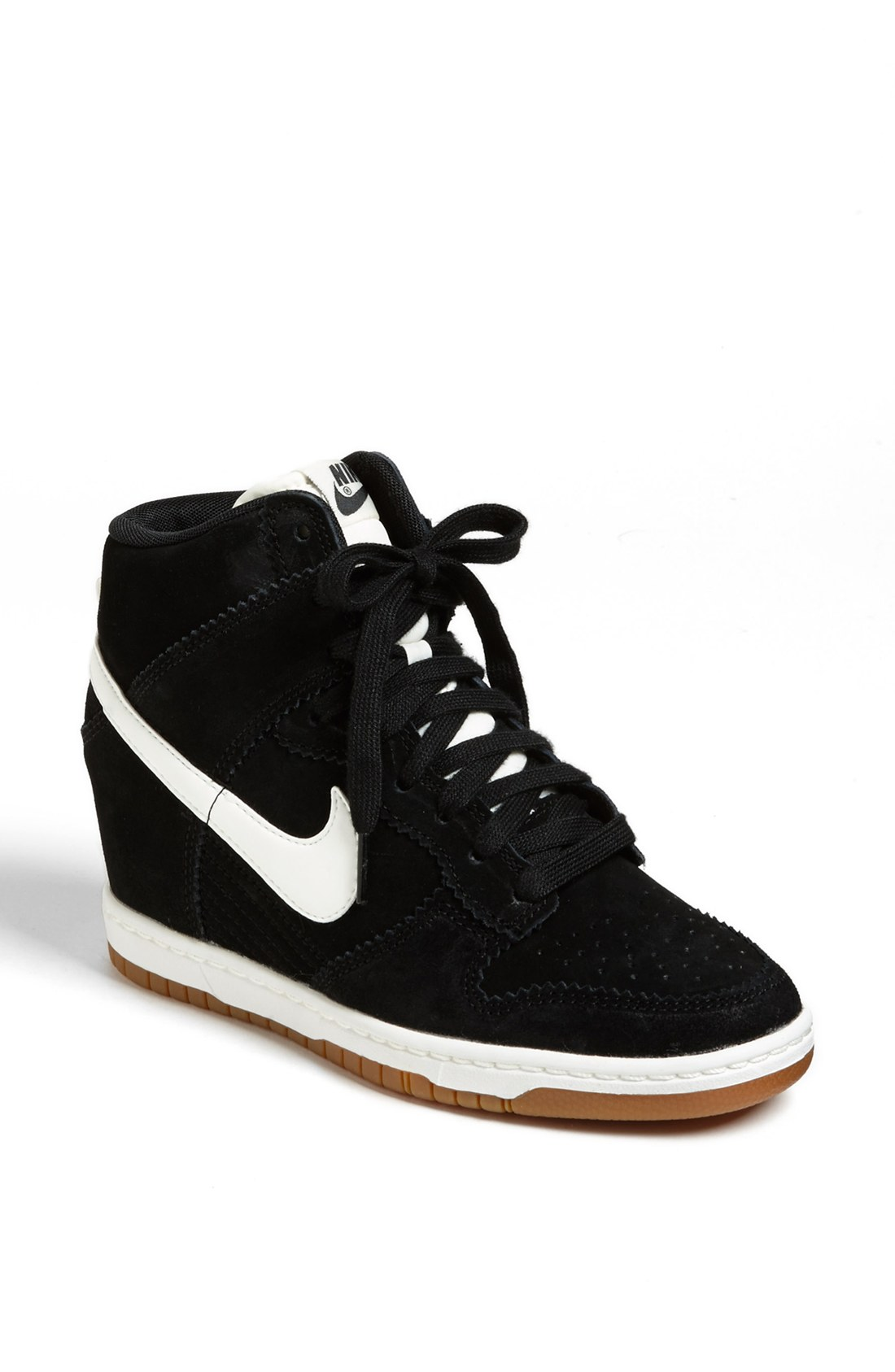 sneaker wedges nike black wwwimgkidcom the image kid