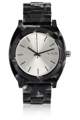 Nixon The Time Teller Acetate Watch - Lyst