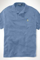 Polo Ralph Lauren Custom-fit Interlock Polo - Lyst