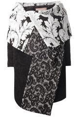 Antonio Marras Printed Cape Coat - Lyst