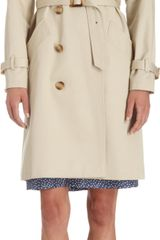 A.P.C. Double-breasted Trench Coat - Lyst