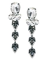 Asos Maternity Asos Premium Crystal Spear Earrings - Lyst