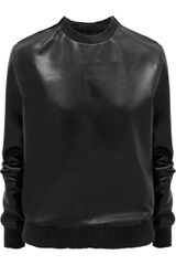 Givenchy Black Soft Nappa Sweatshirt - Lyst