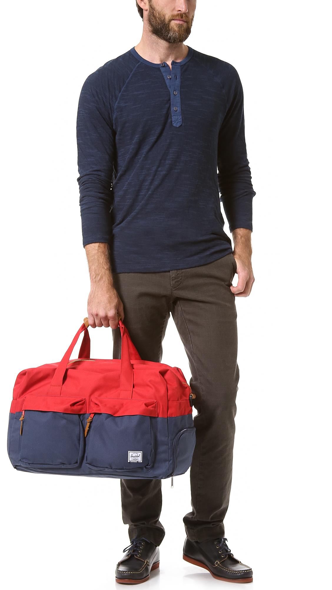 Lyst - Herschel Supply Co. Walton Duffel Bag in Red for Men 53f69c929d665