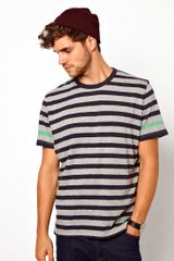 Paul Smith Crew Neck Striped Tshirt - Lyst
