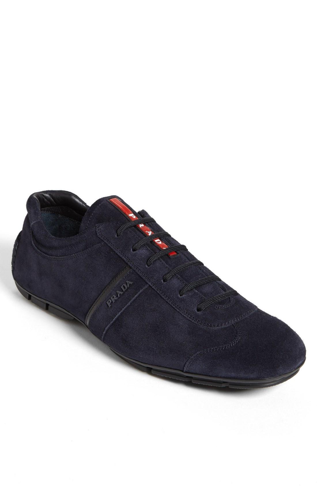 Prada Monte Carlo Sneaker in Blue for Men | Lyst