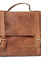 Una Fashion Organic Leather Messenger Bag - Lyst