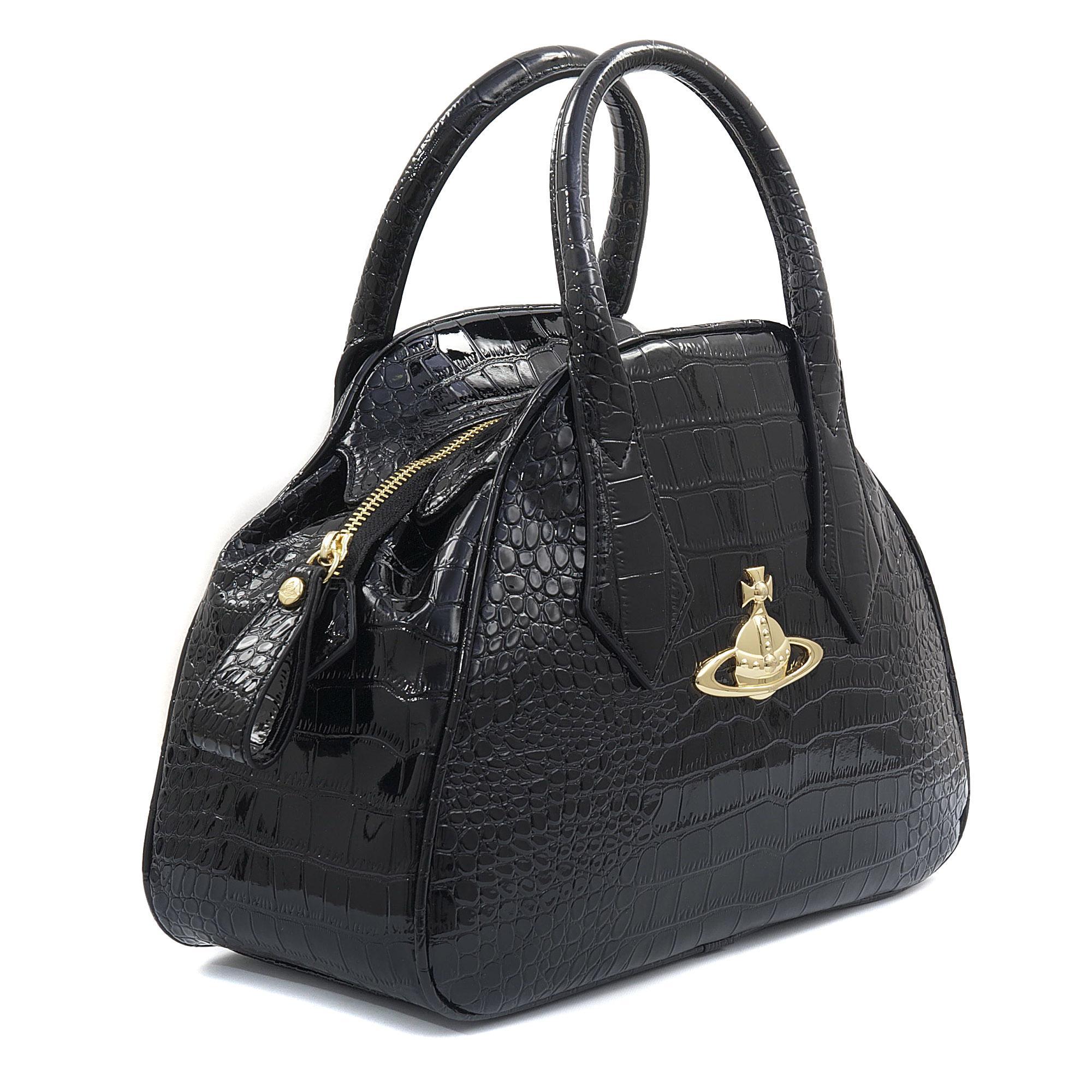 65e966f8cf46 Vivienne Westwood Yasmin New Chancery Bag in Black - Lyst