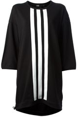 Y-3 Striped Dress - Lyst